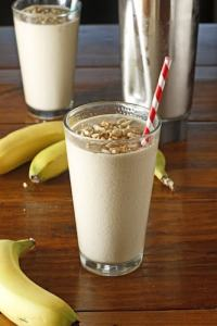 peanut butter banana smoothie for breakfast