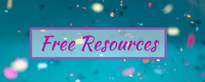 FREE Resources just for you!