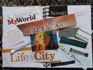 Vision Journals are wonderful for working through a multitude of transitions, or if you want to work on a number of different aspects of your life.
