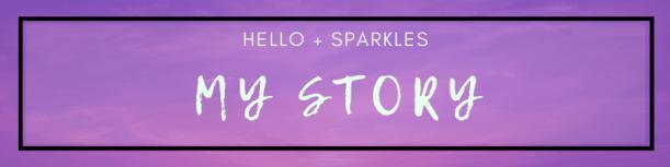 hello + sparkles