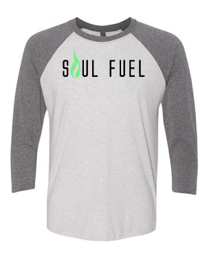 Soul Fuel Baseball Raglan Grey
