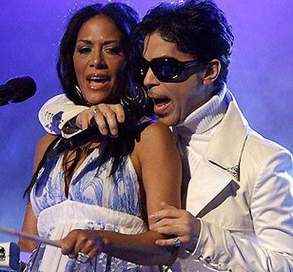Prince with Sheila E.