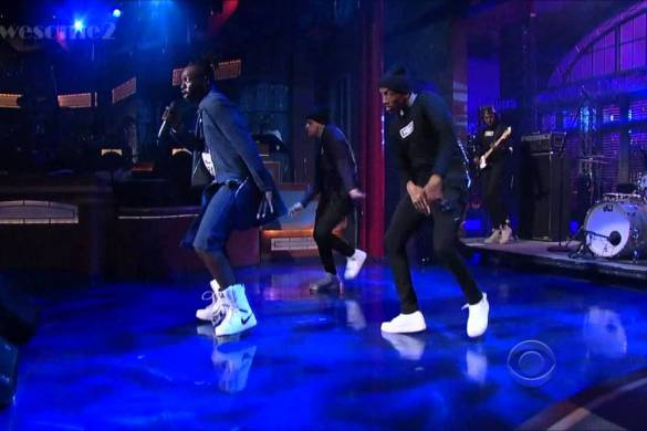 Le1f Performs on David Letterman [VIDEO] @Le1fNY