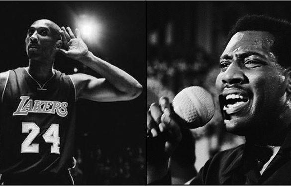 Kobe Bryant and Otis Redding