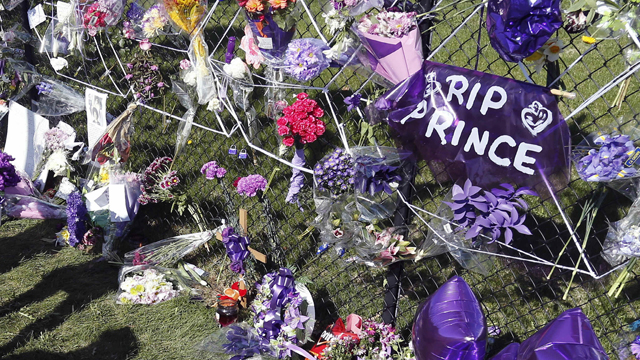 Prince Memorial Fence at Paisley Park
