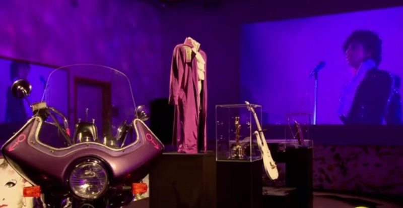 Themed Prince Room at Paisley Park featuring Purple Rain.