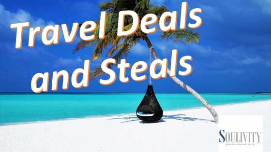 travel deals and steal header