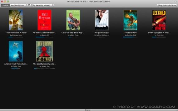Kindle ເວີຊັ່ນ Mac ເພີ່ມລົງໄປ Mac App Store ແລ້ວ