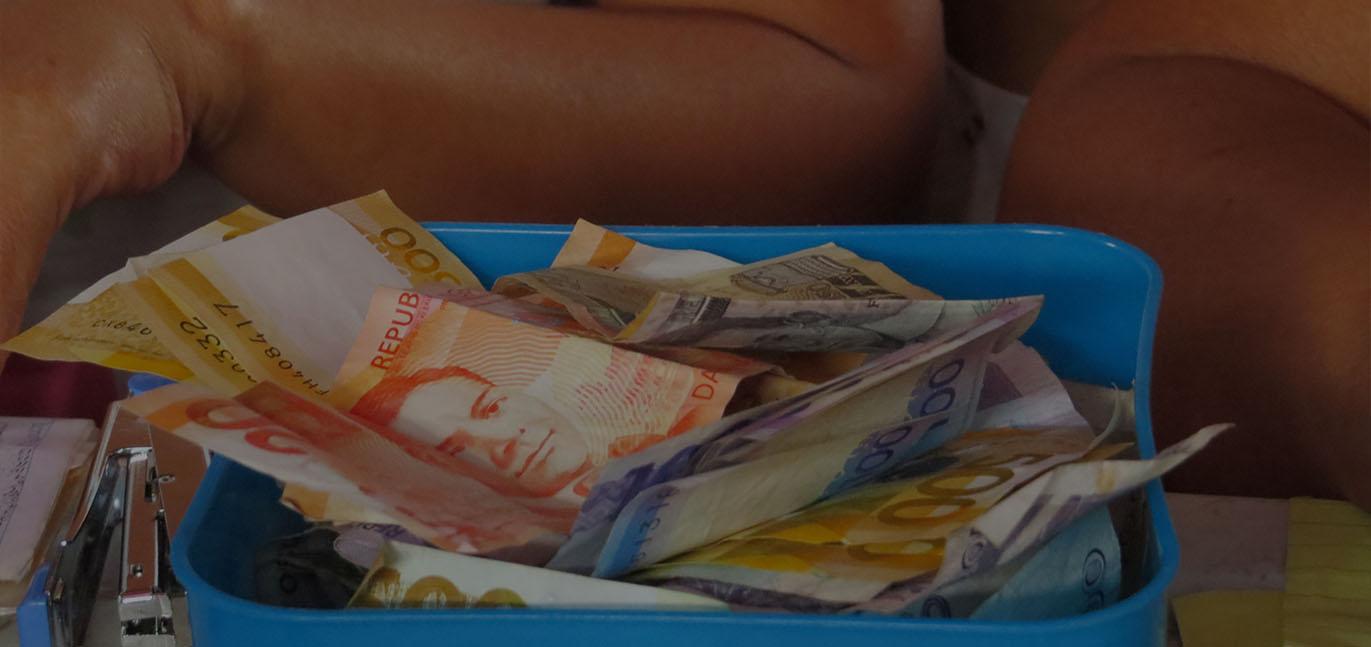 Filipino pesos being repaid to CARD
