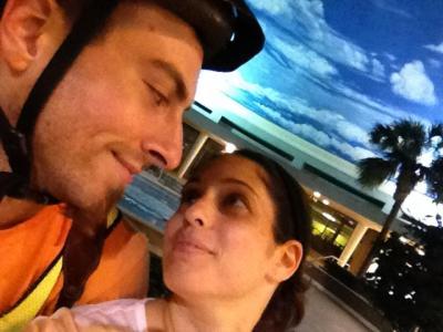 Brian and Naomi at the Sea Ranch Center