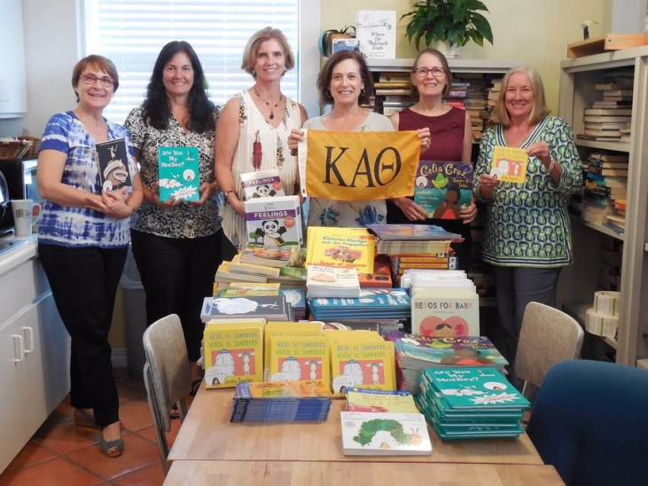 R2LB4F thanks Kappa Alpha Theta for all these books!