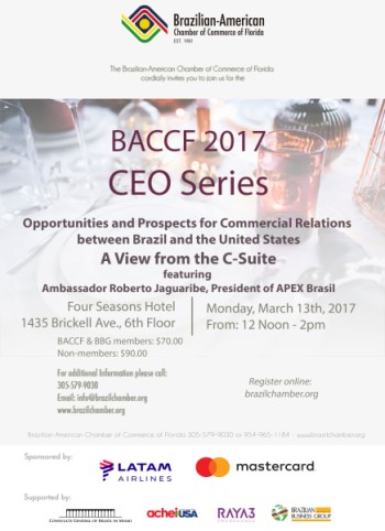 Register Today! BACCF 2017 - CEO Luncheon featuring