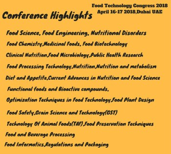 20th International Conference on Nutrition,Food Science and