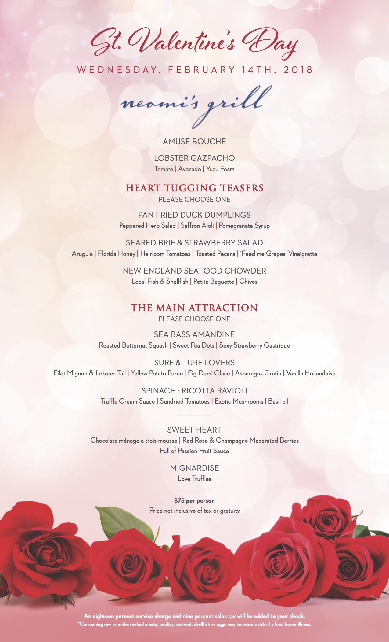 TrumpMiami_2018_ValentinesMenu - The Soul Of Miami