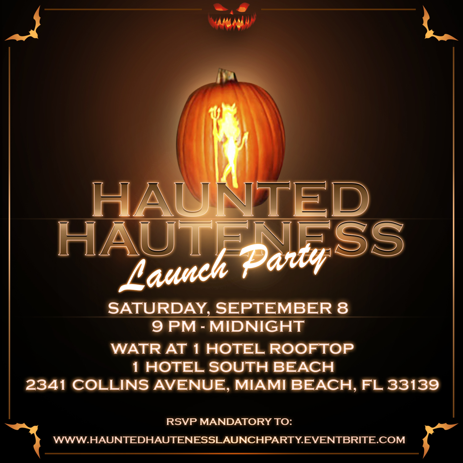 Haunted Hauteness Launch Party 9/8/18 - The Soul Of Miami