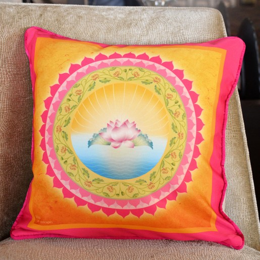 Bliss Mandala Cushion Cover