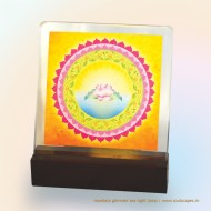 Bliss Mandala Glimmer Lamp