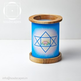 Mandala Candle Lamp