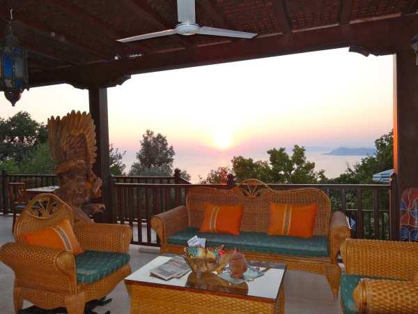 The Pomegranate Terrace