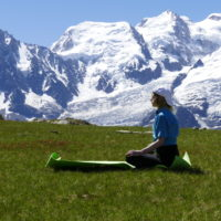 Yoga and adventure in the Alps