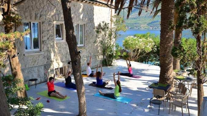 summer yoga retreat