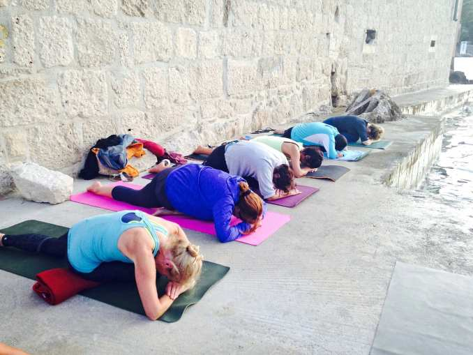seaside yoga retreat Croatia