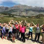 yoga and hiking retreat