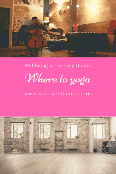 welllbeing in the city guide Barcelona