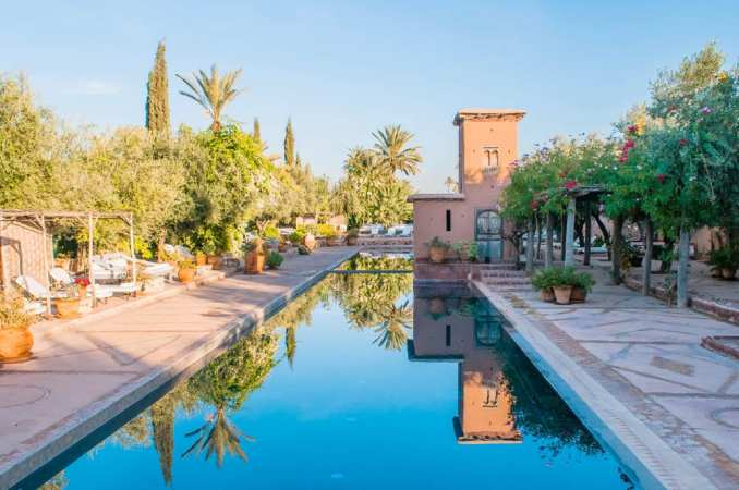 luxury boutique yoga retreat Marrakech