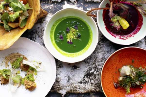 texture restaurant vegan