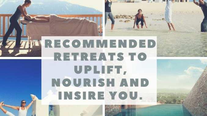 retreats to nourish you