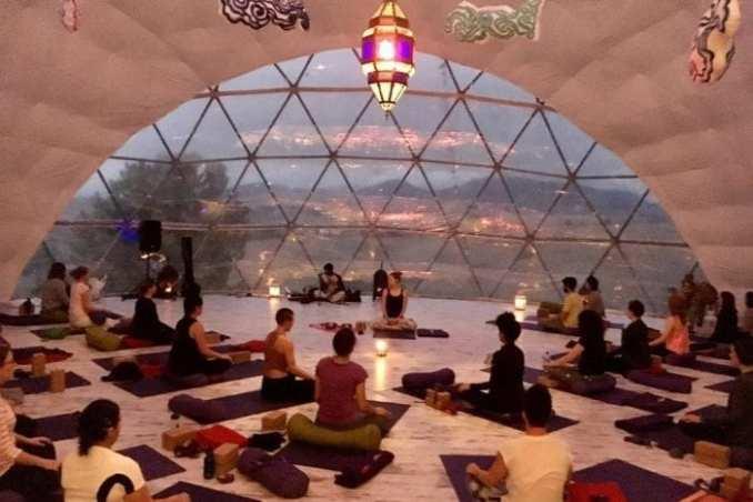 Escape Christmas Yoga Retreat in Spain