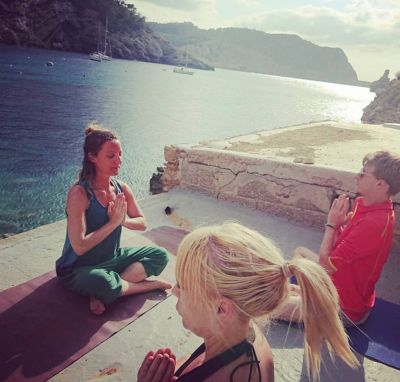 yoga retreat Benirras