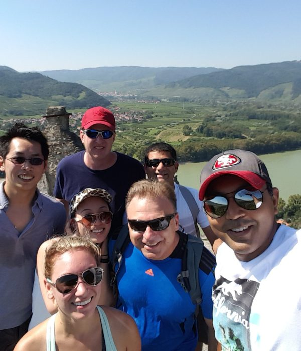 Biking in Wachau Valley Video