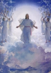 Christ-King-in-clouds-heavens