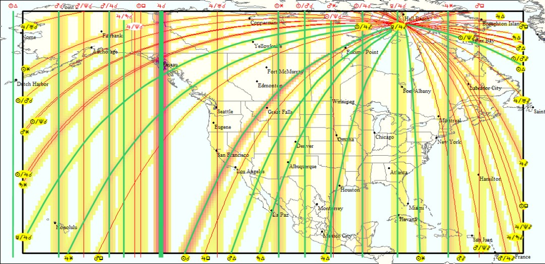 What is Astrocartography? - Soulshine Astrology
