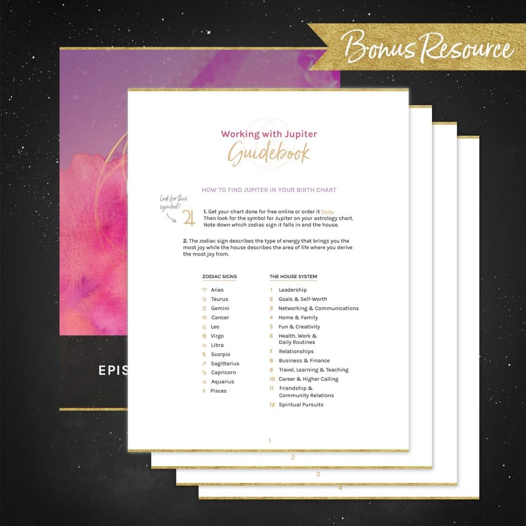 028 | Finding Joy with Your Jupiter Sign - Soulshine Astrology