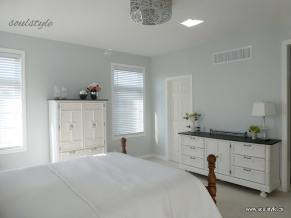 white painted dressers charcoal top