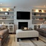 A Family Room re-designed