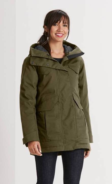 Sustainable parka jacket