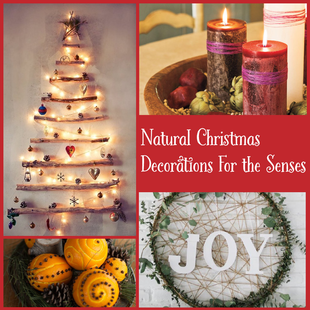 Eco friendly natural christmas decorations for the senses Environmentally friendly decorations