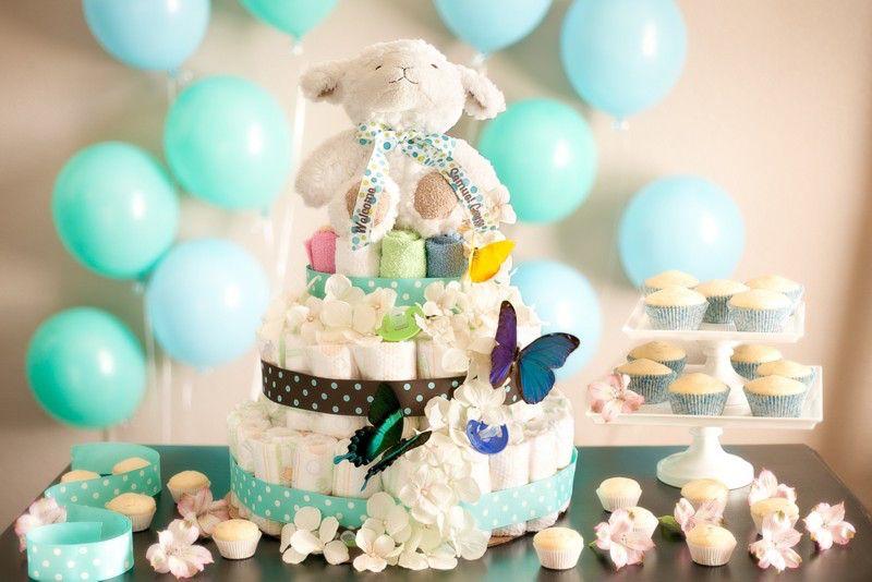 15 Dicas para fazer uma LINDA decoração de Chá de Bebê BARATO (OBA!)