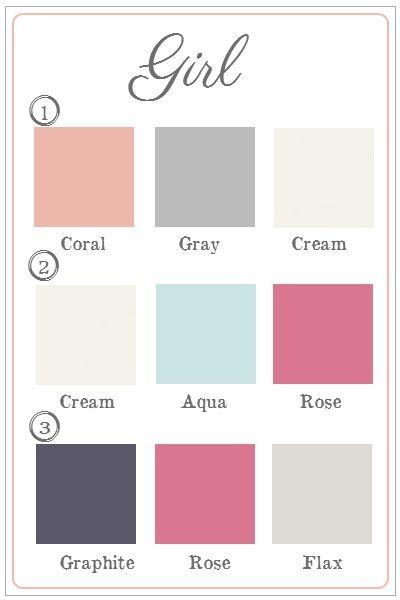 nursery colors