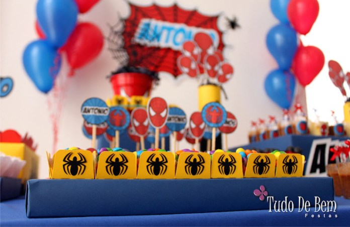 festa-infantil-homem-aranha-toppers