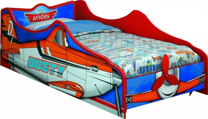 quarto-infantil-aviões-cama