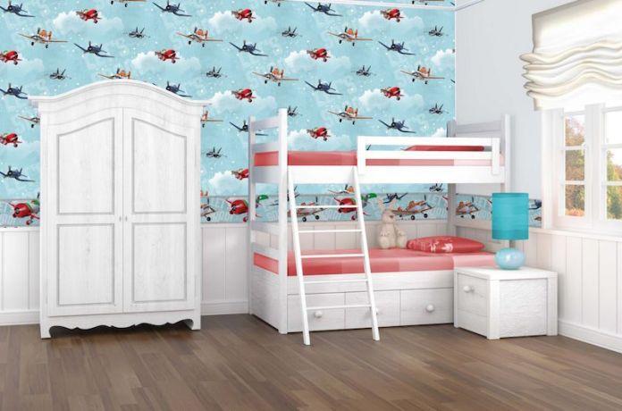 blue children's bedroom