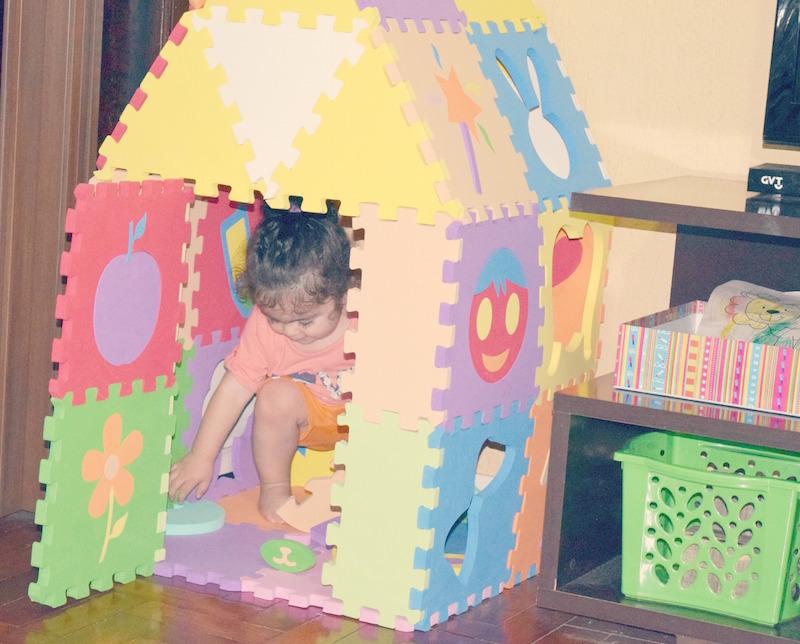 Brinquedos educativos: Tapete Casinha, diversão total para ...