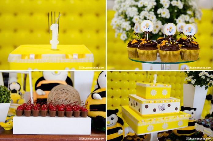 festa-infantil-abelhinha-decoração