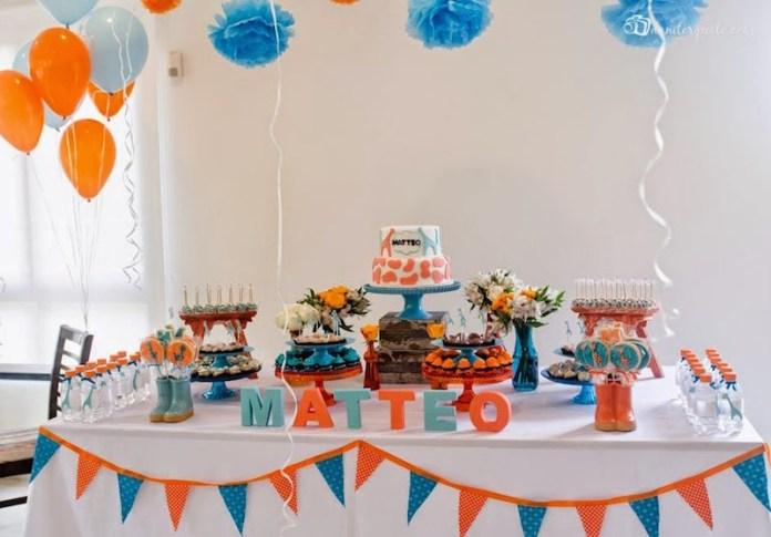 chá-de-bebê-colorido-laranja-azul