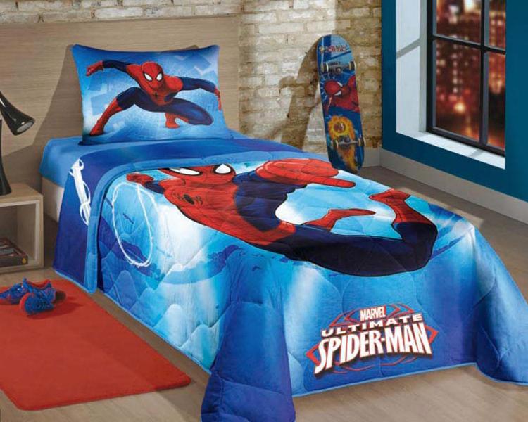 do-berço-para-cama-jogo-de-cama-homem-aranha